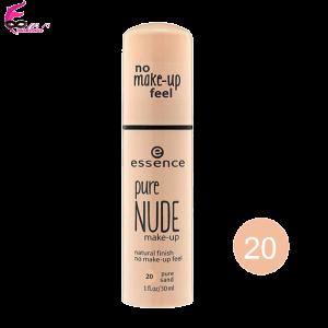 کرم-پودر-اسنس-سری-Pure-Nud-Make-Up-مدل-Pure-Sand-شماره-20