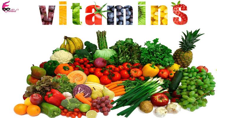 نقش ویتامینها در سلامت پوست و بدن