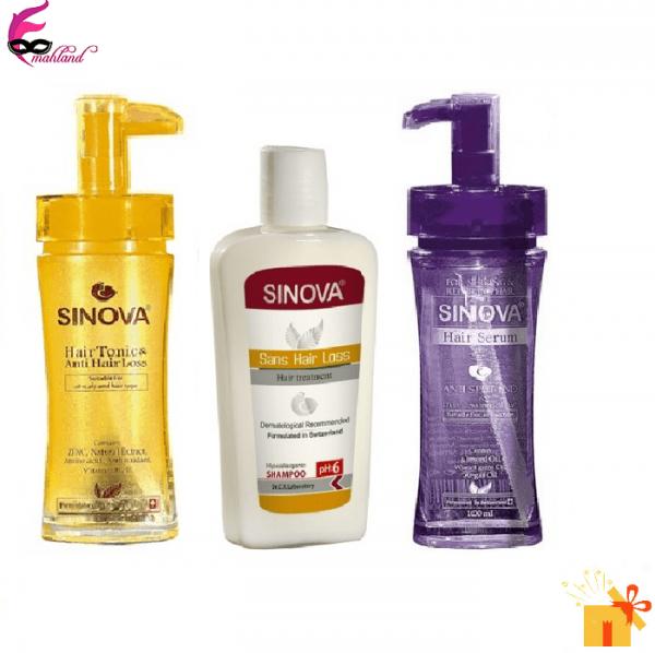 پک تقویت کننده و مراقبت موی سر سینوا