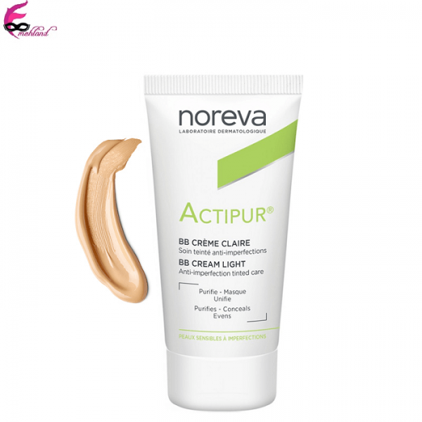 کرم پودر ضد جوش نوروا بژ روشن مدل Actipur BB Cream