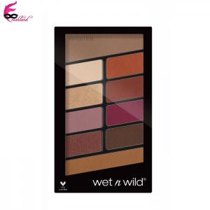 پالت سایه ده رنگ وت ان وایلد Wet n Wild مدل E758 Rosé in the Air